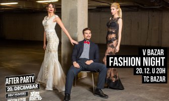 V Bazar fashion night 20. decembra