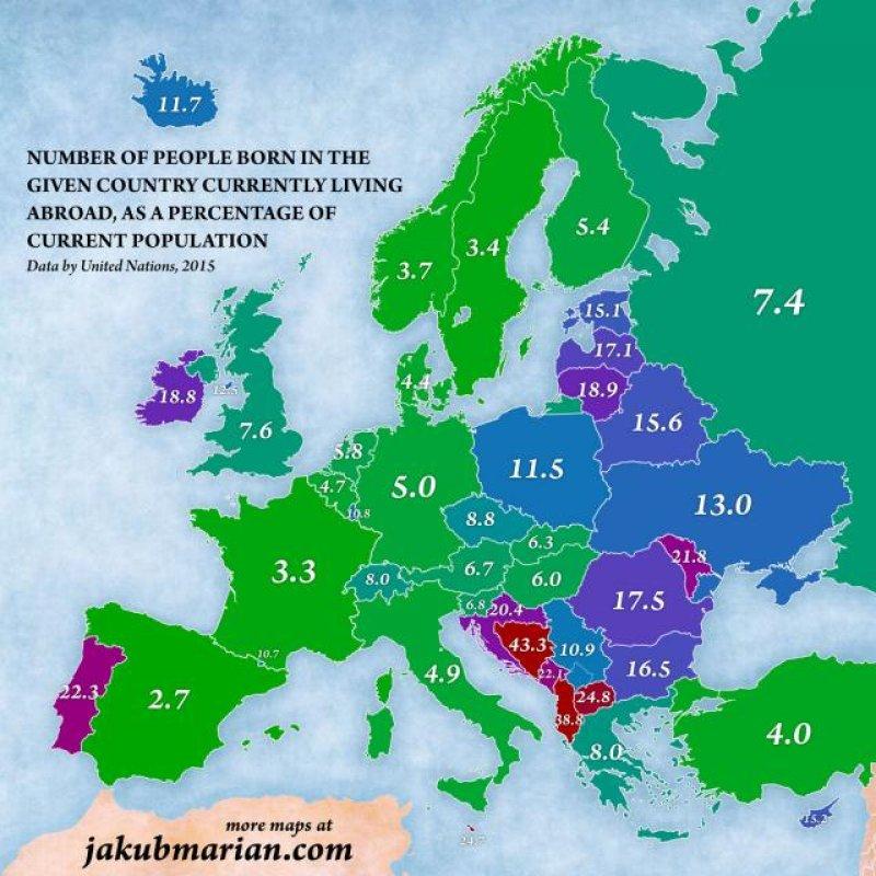 Mobilna Mapa Migracija U Evropi Crnogorci Sele U Srbiju Kodex Me