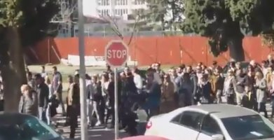 I danas protest u Baru(VIDEO)